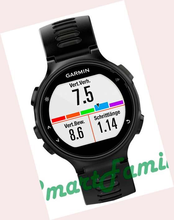 часы FORERUNNER 735 XT черные