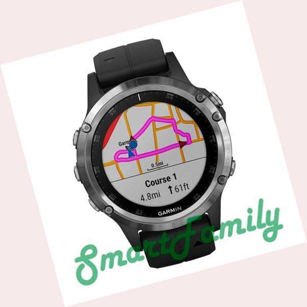 часы GARMIN FENIX 5 серебристые