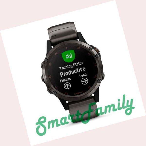 часы Garmin FENIX 5 PLUS титановые