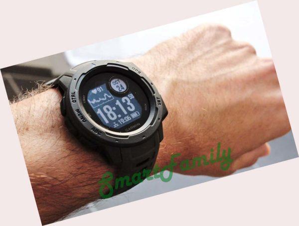 часы Garmin INSTINCT черные1