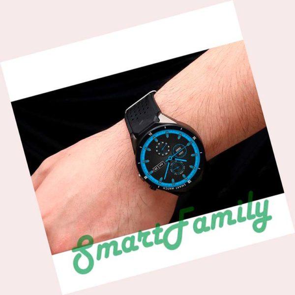 часы KW88 PRO на руке