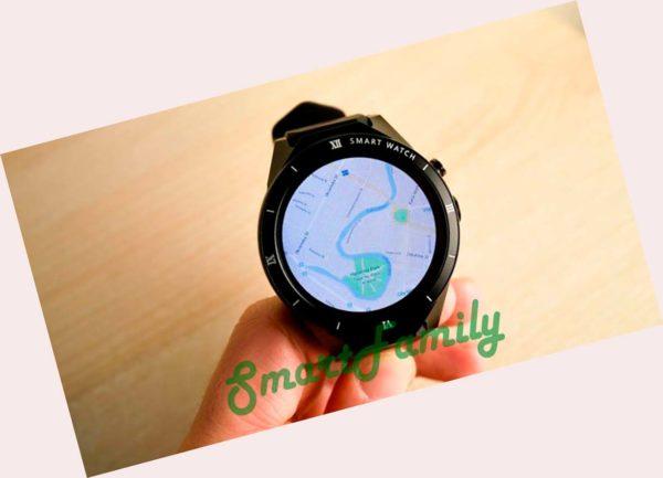 часы KW88 PRO навигация