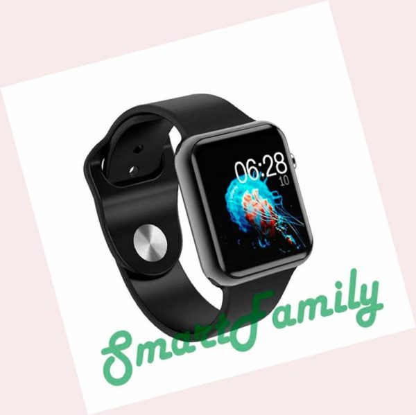 умные часы IWO 6 черные