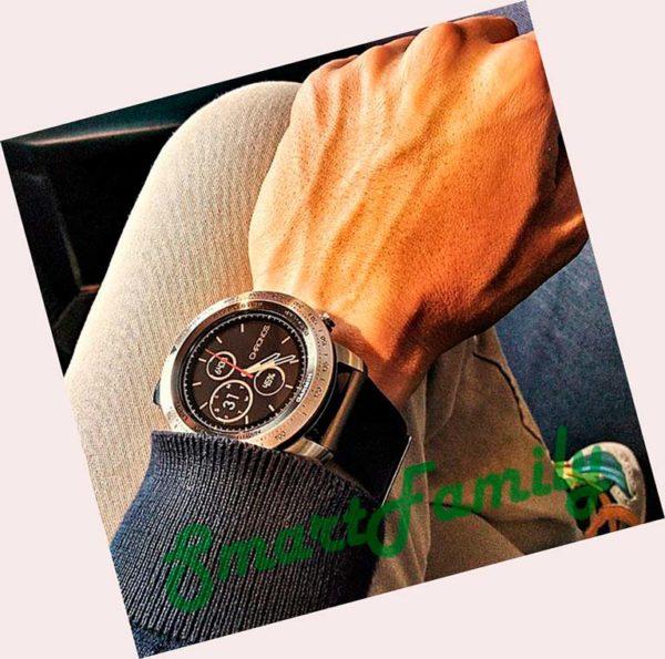 Fenix Chronos кожаные на руке