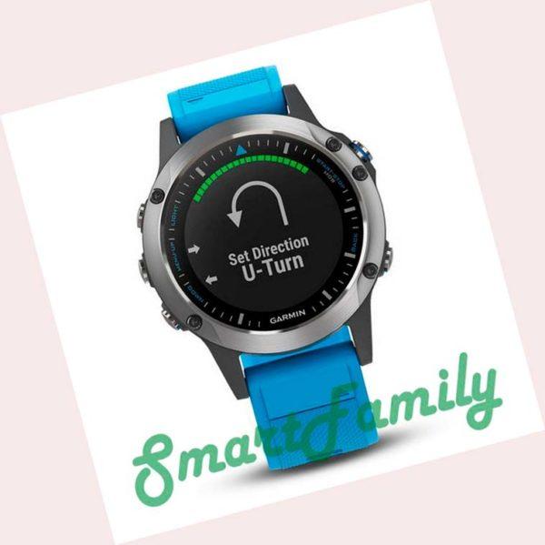 часы Quatix 5 голуб