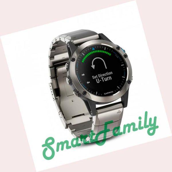 часы Quatix 5 титановые
