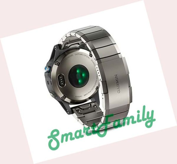 часы Quatix 5 титановые пульс