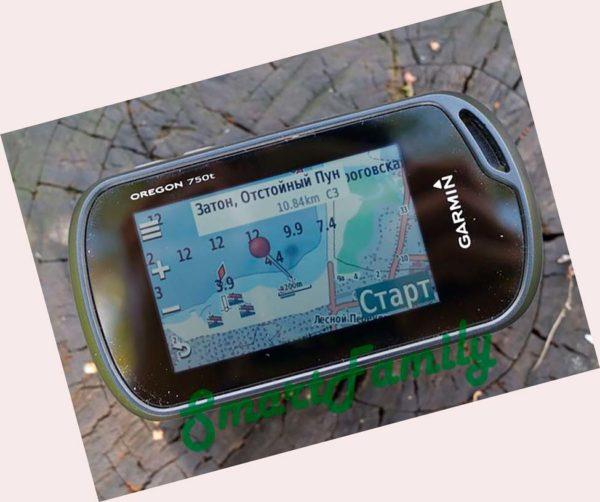 для рыбалки навигатор OREGON 750