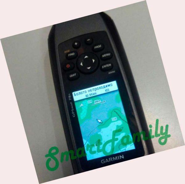 для воды GPSMAP 78S Russia