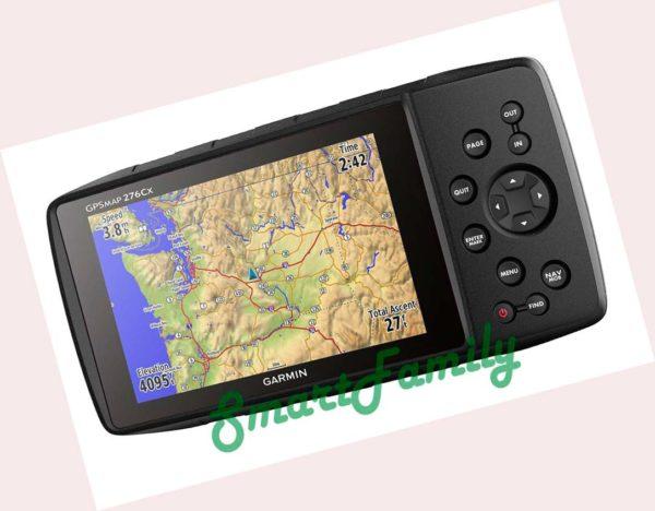 навигатор GPSMAP 276CX карты