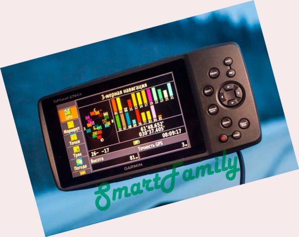 навигатор GPSMAP 276CX на стекле