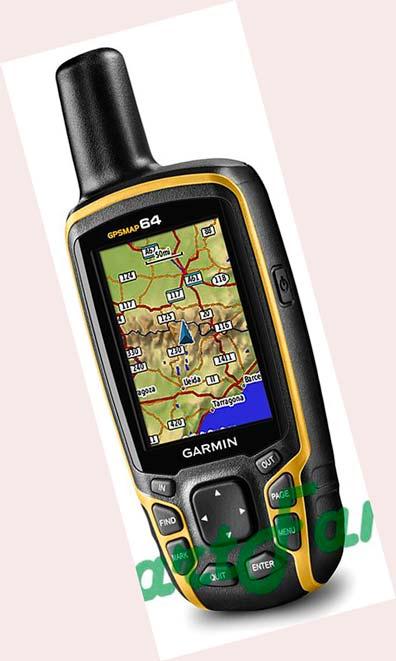 навигатор GPSMAP 64 топо карты