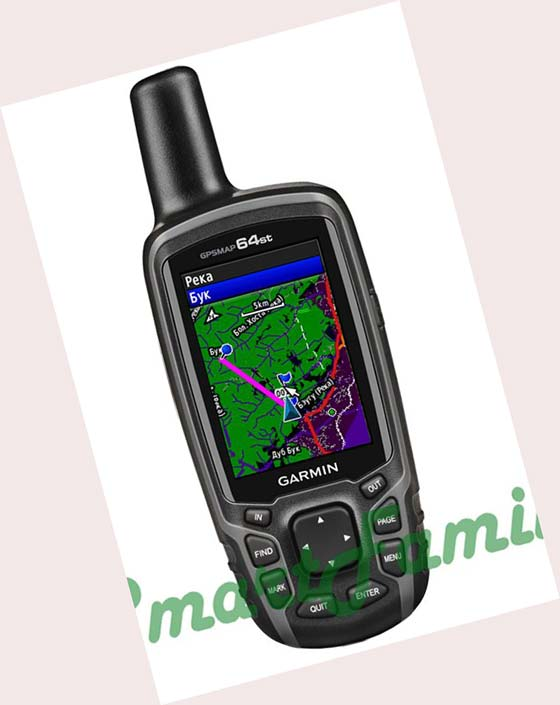 навигатор GPSMAP 64st топо карты