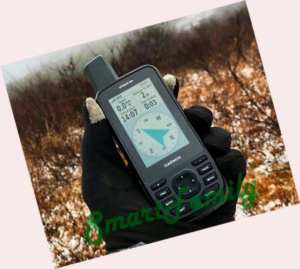 навигатор GPSMAP 66ST в работе