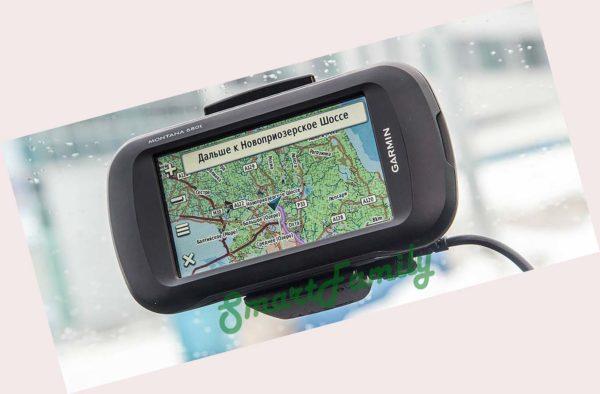навигатор MONTANA 680 карты дорог