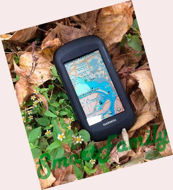 навигатор MONTANA 680 топо карты