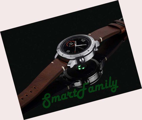 премиум часы Fenix Chronos из кожи