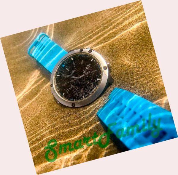 смарт часы Quatix 5 в воде