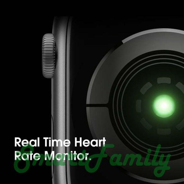 smart watch IWO 7 пульсометр