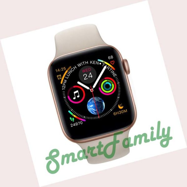 smart watch IWO 7 золотые
