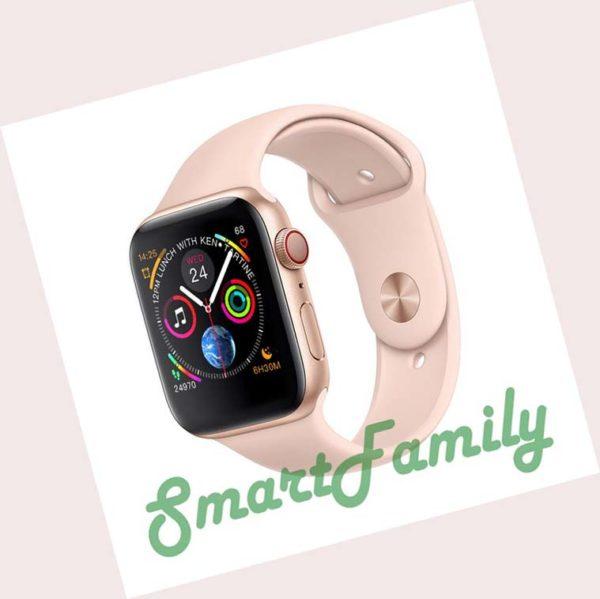 smart watch IWO 8 золотые