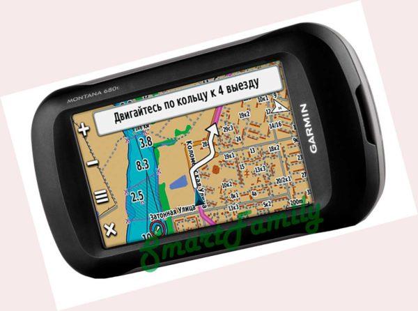 туристический навигатор MONTANA 680