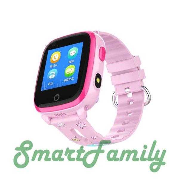 Smart baby watch DF33 розовые
