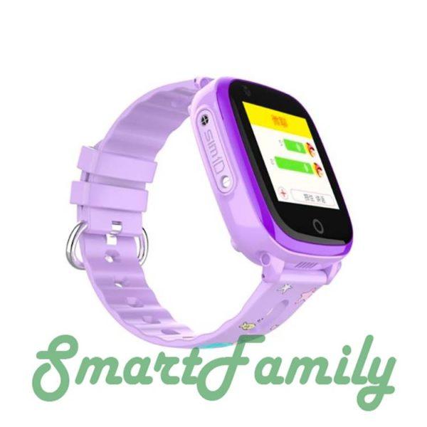 Smart baby watch DF33 сиреневые