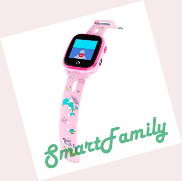 детские часы DF33 розовые