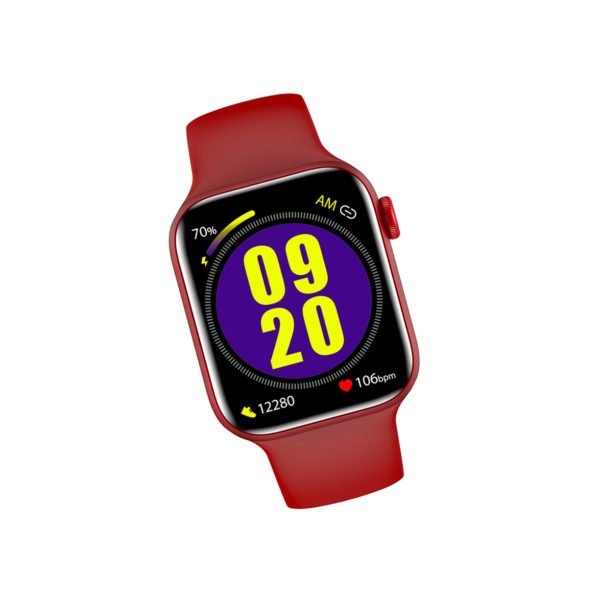 красные женские часы LW15