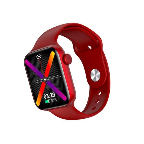 красные женские смарт часы LW15