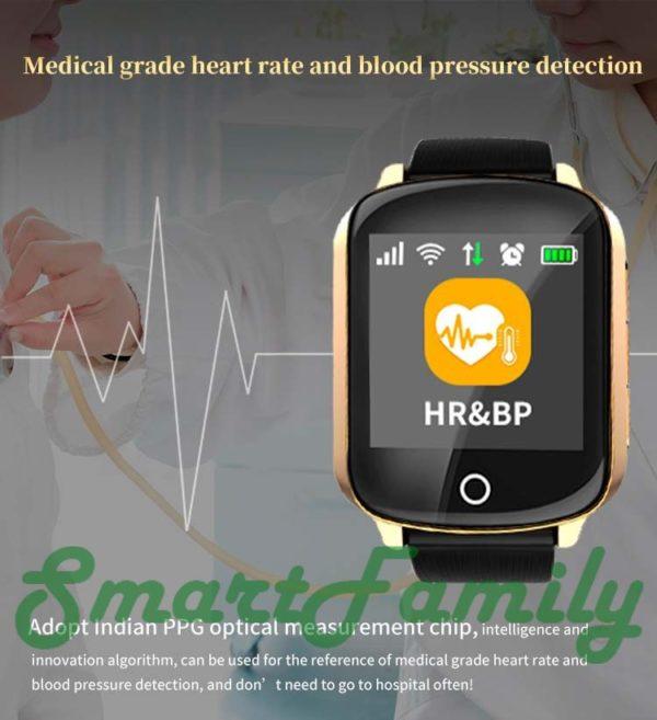 Smart watch D200 с тонометром