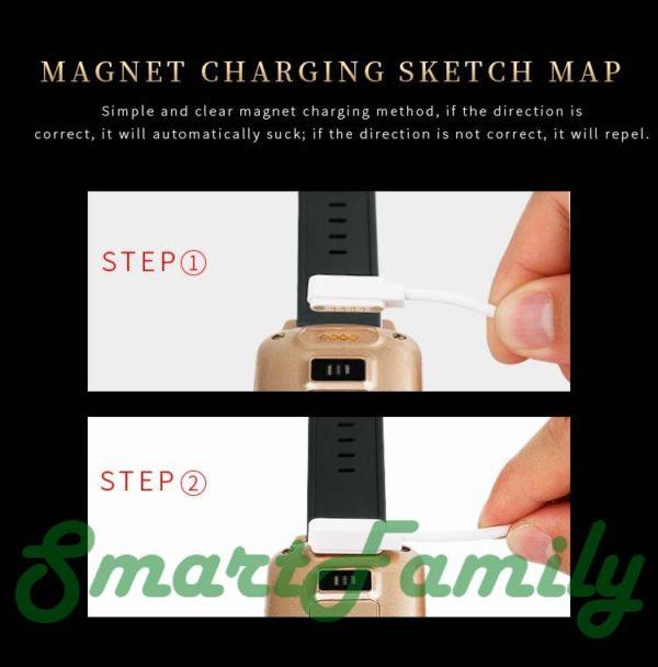 Smart watch D200 зарядка