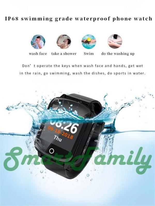 часы D200 водонепроницаемые