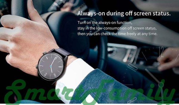 часы KC05 за рулем