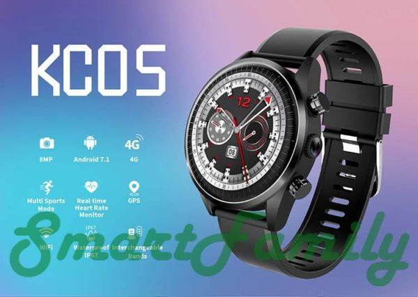 часы с 4G Kingwear KC05