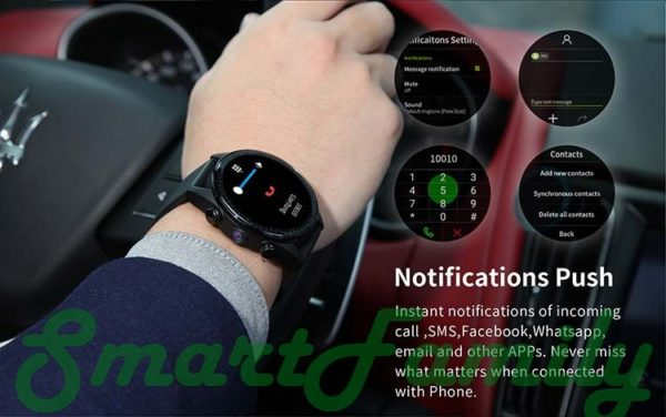 мощные умные часы Kingwear KC05