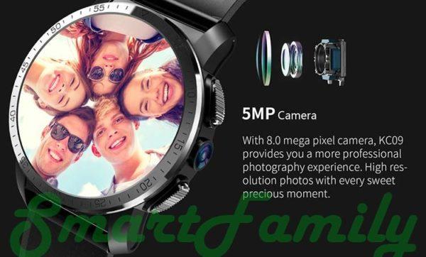 смарт часы с камерой Kingwear KC09