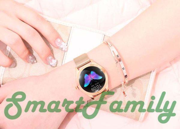 умные часы KW10 для девушек