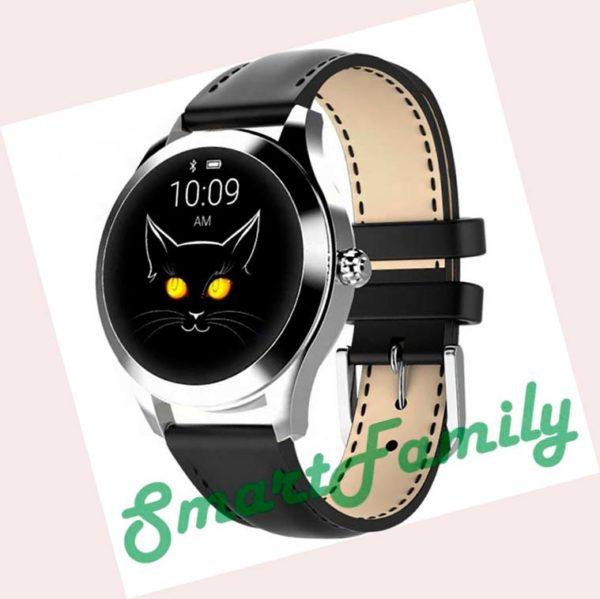 женские часы Kingwear KW10 черные