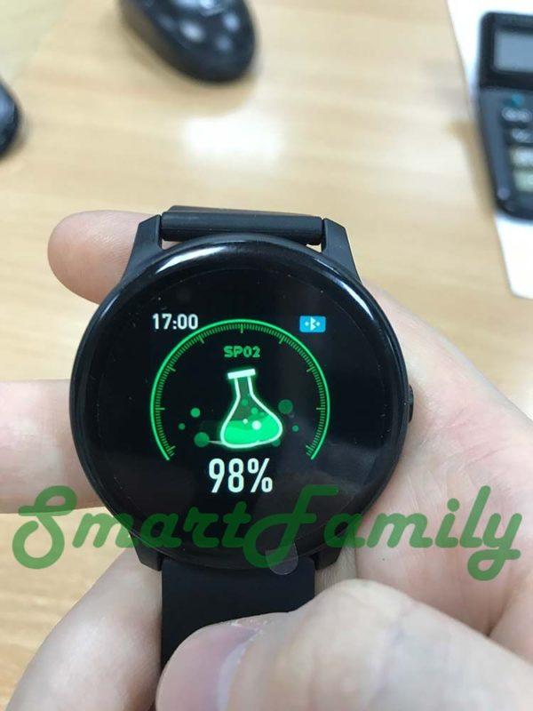 часы KW19 уровень кислорода в крови