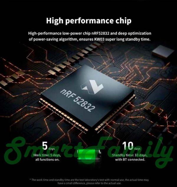 Kingwear KW03 новый процессор