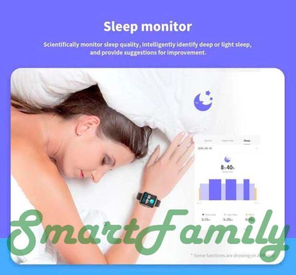 часы KW03 мониторинг сна
