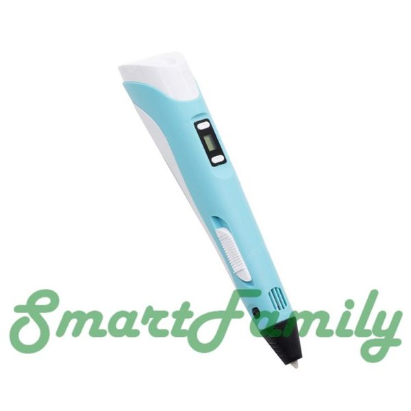 3Д ручка 3D Pen-2 голубая