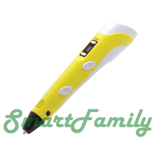 ручка 3D Pen-2 желтая