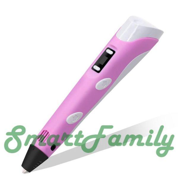 3D ручка 3D Pen-2 розовая