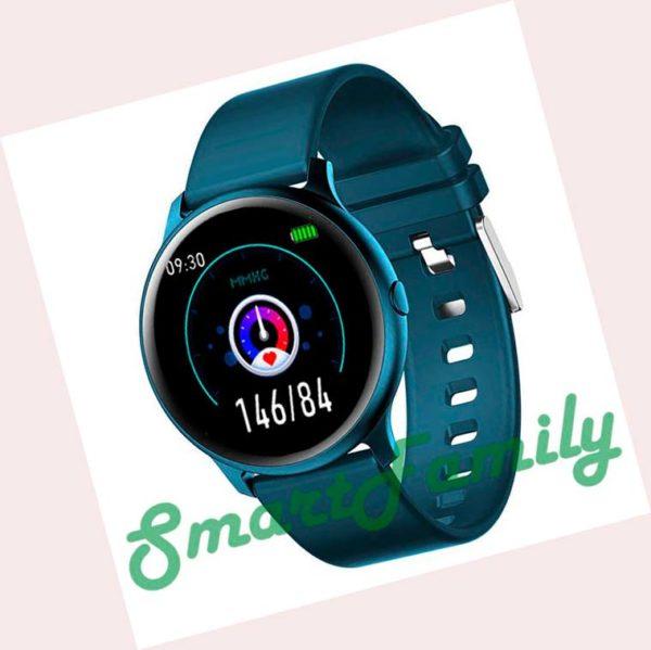 умные часы KW19 синие