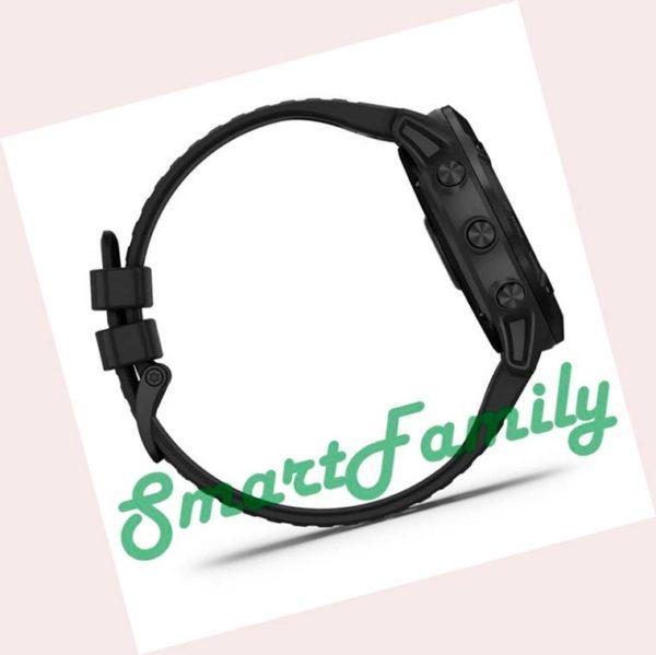часы FENIX 6X Pro черный сбоку