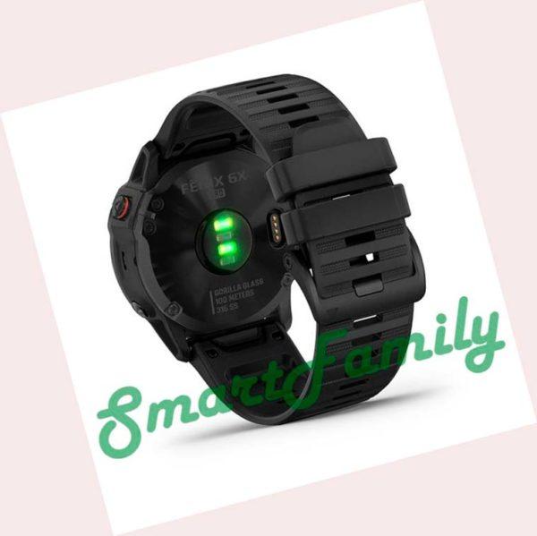 часы FENIX 6X Pro черный сзади