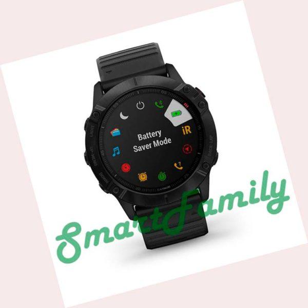 часы Garmin FENIX 6X Pro черный